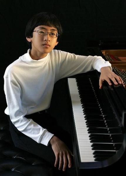 Piano prodigy keys into his abilities