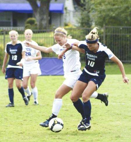 Soccer: BYU's game-winning goal slips by late in the game